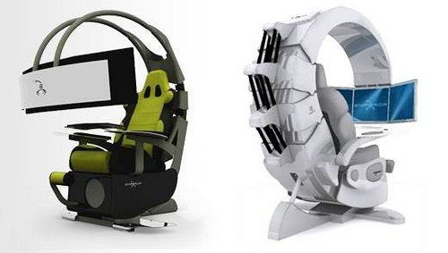 fauteuil jeux video. Black Bedroom Furniture Sets. Home Design Ideas