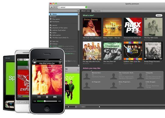 whatisspotify client and phones Test de Spotify Premium