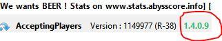Client et Serveur sur la même version logiciel