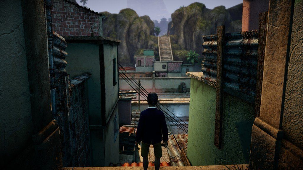 Le début de l'histoire dans les favelas