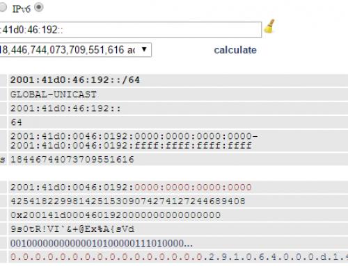 Configurer le bloc IPV6 OVH sur Debian 7
