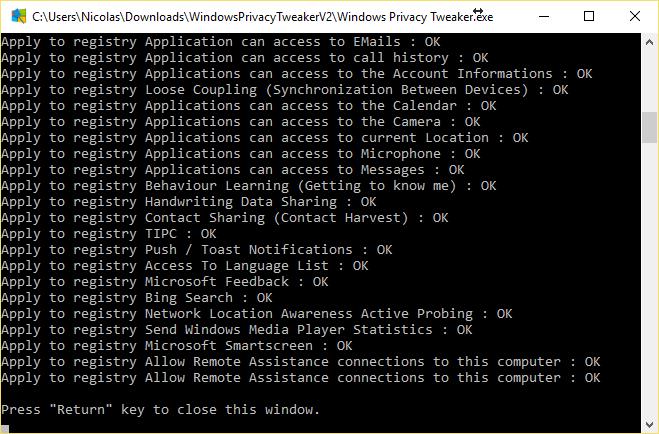Nettoyer windows 10 et supprimer ses trackers nouvelle for Fermez la fenetre