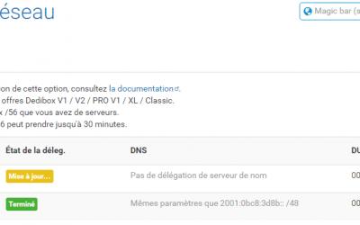 Configurer l'ipv6 chez Online.net