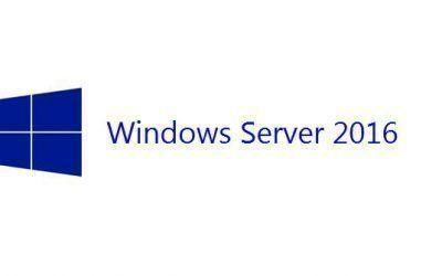 Sortie de Windows Serveur 2016