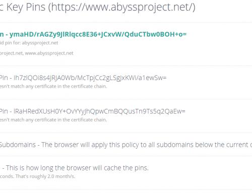 Déploiement de HPKP avec NGINX et Let's Encrypt
