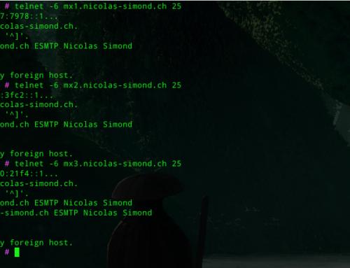 Configuration de l'IPv6 dans Proxmox Mail Gateway
